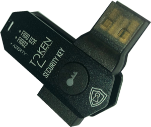 Token2 T2F2-AZ FIDO2.1.pre, U2F and TOTP Security Key