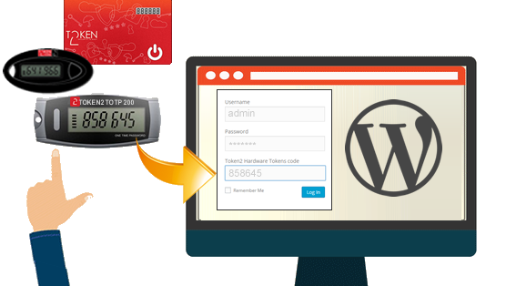 Token2 Hardware Tokens plugin for WordPress